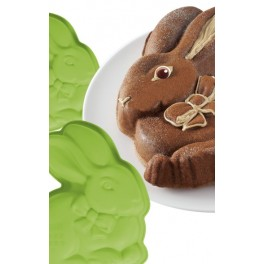 Molde de conejito de Pascua