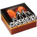 3 cajas familia calaberas Halloween