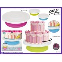 Plato giratorio para decorar tartas
