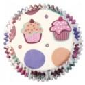 Mini capsulas cupcake 100 unid.