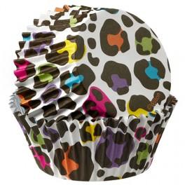 Capsulas estampado Leopardo(forro aluminio)