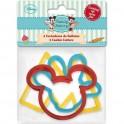 Set 3 cortadores Mickey Mouse