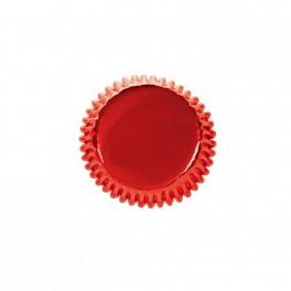 45 capsulas horneables Rojo metalizado