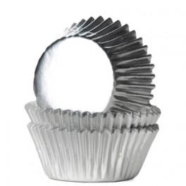 Mini Capsulas plata metalizada