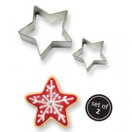 Set 2 cortadores estrella