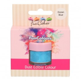 FunCakes Edible FunColours Dust-Baby Blue