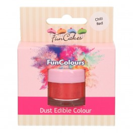 FunCakes Edible FunColours Dust-Cherry Red