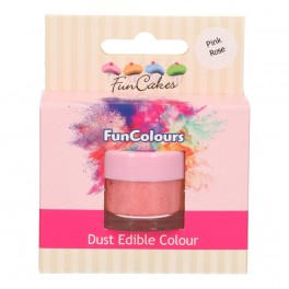FunCakes Edible FunColours Dust-Pink Rose