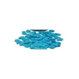 Decoraciones cochecito bebe azul 20 gr.