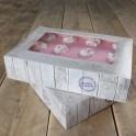 Caja para tartas 2 unid. 36x25x8cm.