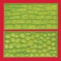 Almohadilla con formas de relieve.
