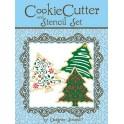 Cortador y plantillas árboles de navidad