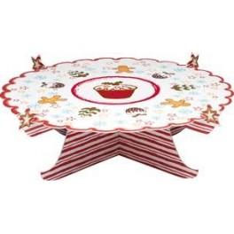 Stand navideño cupcakes y tartas