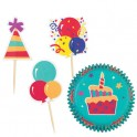 Combo cupcake fiesta