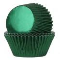 Cápsulas verde metálico  pk/24