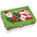 set 2 cajas regalo para galletas