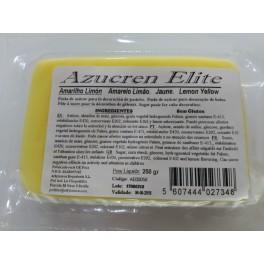 Fondant amarillo limon 250 gr.
