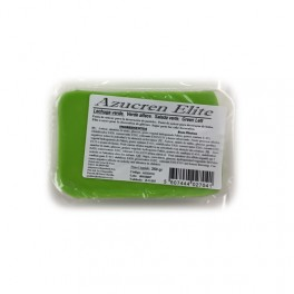 Fondant verde lechuga 250 gr.