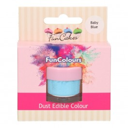 FunCakes Edible FunColours Dust-Baby Blue