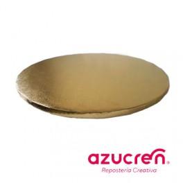 Base redonda Oro 1,2cm. x  25cm.