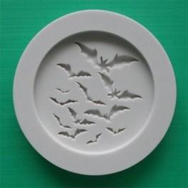 molde silicona murcielagos