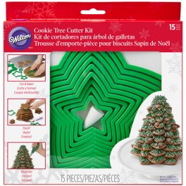 Kit Wilton para montar árbol de navidad de galletas
